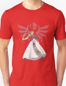 Smash Bros - Zelda Unisex T-Shirt