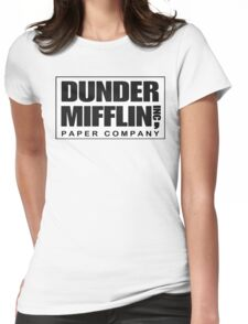 Dunder Mifflin Paper Company Womens Fitted T-Shirt