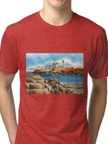New England Lighthouse Tri-blend T-Shirt