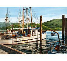 Yaquina Bay Oregon Coast Photographic Print