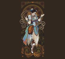 Strongest Woman in the World  (Art Nouveau China) by Razvan-Sedekiah
