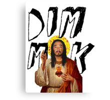 Dim Mak / Stevus Christ Tee Print Canvas Print