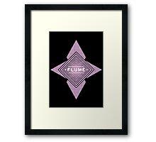 Flume - Stars black  Framed Print