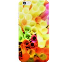 Flourescent Straws iPhone Case/Skin