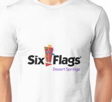 Welcome to Night Vale Six Flags Desert Springs Logo Unisex T-Shirt