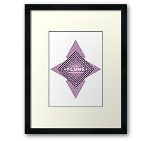 Flume - Stars White Framed Print