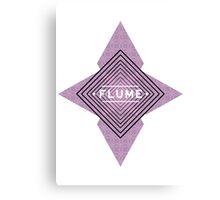 Flume - Stars White Canvas Print