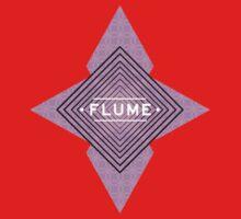 Flume - Stars White One Piece - Short Sleeve
