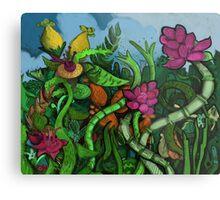 Botanical Boogie Metal Print
