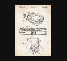 1993 Nintendo Gameboy Video Game Invention Patent Art Unisex T-Shirt