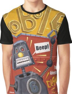 Robot 6 Graphic T-Shirt