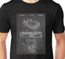 1993 Nintendo Gameboy Video Game Invention Patent Art, Blackboard Unisex T-Shirt