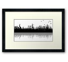 River Bank Framed Print