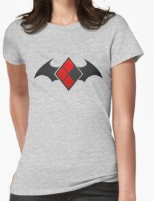 Diamonds and Wings Womens Fitted T-Shirt