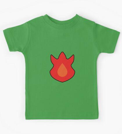 Volcano Badge Kids Tee