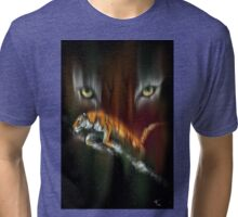 Tiger, Tiger Burning Bright Tri-blend T-Shirt