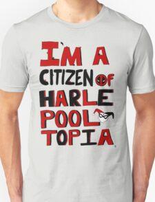 Citizens Of Harlepooltopia Unite! Unisex T-Shirt
