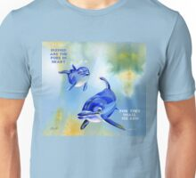 Blessed Are The Pure In Heart Unisex T-Shirt
