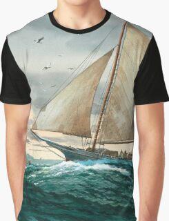 Chesapeake Bay Sailing Home Graphic T-Shirt