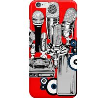 Vintage Making Music iPhone Case/Skin