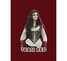 Team Red OUAT Photographic Print