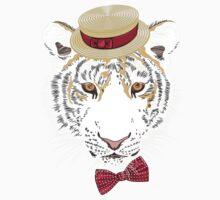Hipster amur tiger One Piece - Short Sleeve