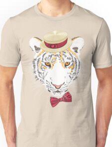 Hipster amur tiger Unisex T-Shirt