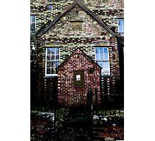 Creepy Church Design Photographic Print