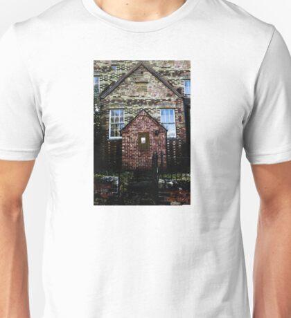 Creepy Church Design Unisex T-Shirt