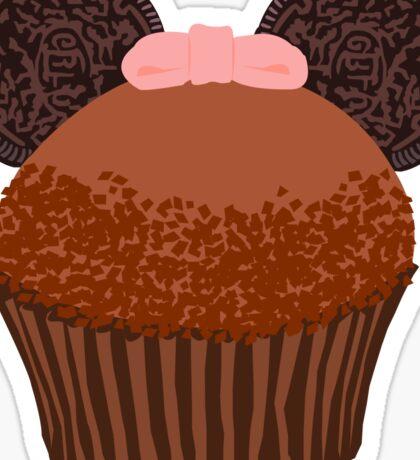 Minnie Cupcake! Sticker