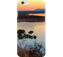 Port Augusta - Red Banks at Dawn iPhone Case/Skin