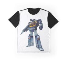 Masterpiece Soundwave (Transparent Background) Revised Graphic T-Shirt