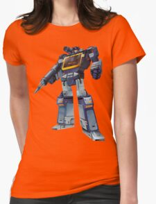 Masterpiece Soundwave (Transparent Background) Revised Womens Fitted T-Shirt