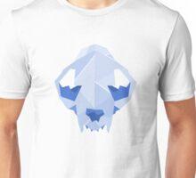 Cat Skull: Blue Unisex T-Shirt