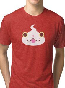 Jibanyan Face Tri-blend T-Shirt