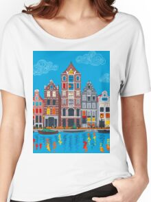 Amsterdam canal and houses Women's Relaxed Fit T-Shirt