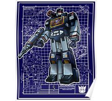 G1 Soundwave Poster