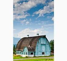 Blue Barn in the Stillaguamish Valley Unisex T-Shirt