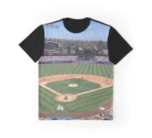 Dodger Baseball Graphic T-Shirt