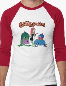 Meet The Gruesomes Men's Baseball ¾ T-Shirt