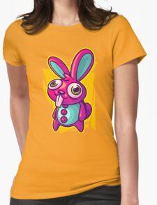 Three Speed Rabbit Womens Fitted T-Shirt