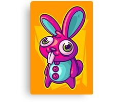 Three Speed Rabbit Canvas Print