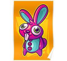 Three Speed Rabbit Poster