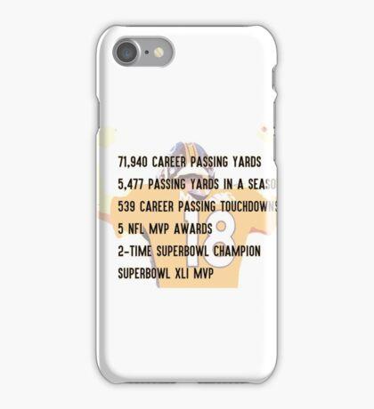 Peyton Manning Statistics Retirement iPhone Case/Skin