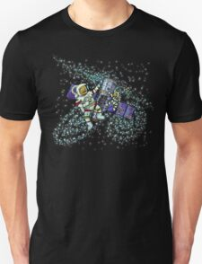Spaceman and space cat Unisex T-Shirt