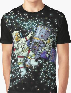 Spaceman and space cat Graphic T-Shirt