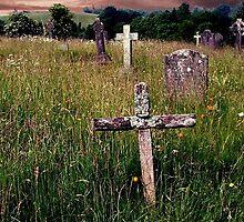 The Old Rugged Cross, Hawkshead, Cumbria. by Roy  Massicks