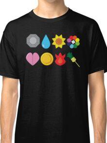 Kanto Gym Badges Classic T-Shirt