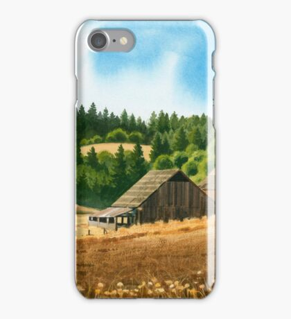 Silverton Oregon Three Barns iPhone Case/Skin
