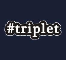 Triplet - Hashtag - Black & White One Piece - Short Sleeve
